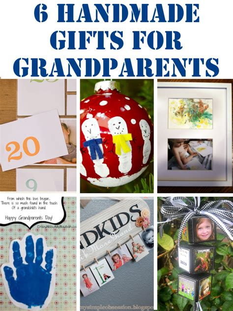diy home sweet home handmade gifts for grandparents