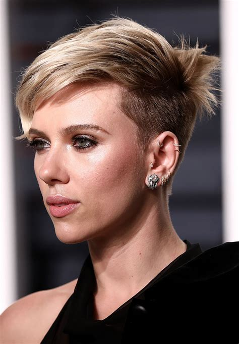 Scarlett Johansson at Vanity Fair Oscar 2017 Party in Los