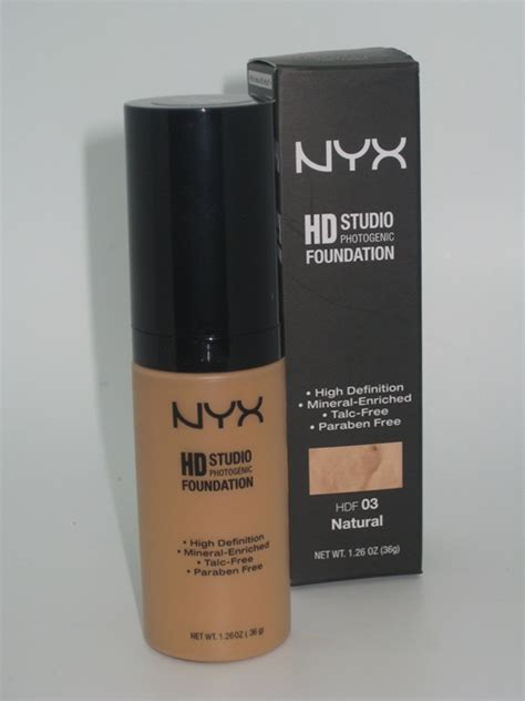 Nyx Hd Foundation nyx hd foundation review swatches musings of a muse