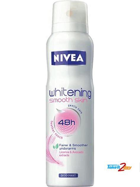 Parfum Nivea nivea whitening smooth skin deodorant spray for