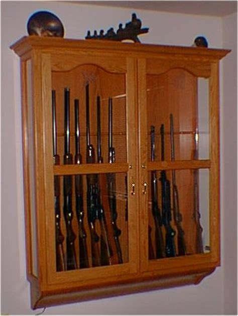 wall mounted gun cabinet woodwork wall mount gun cabinet plans pdf plans