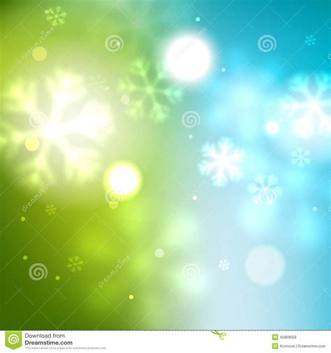 poster design background vector new year green blurred background stock vector image