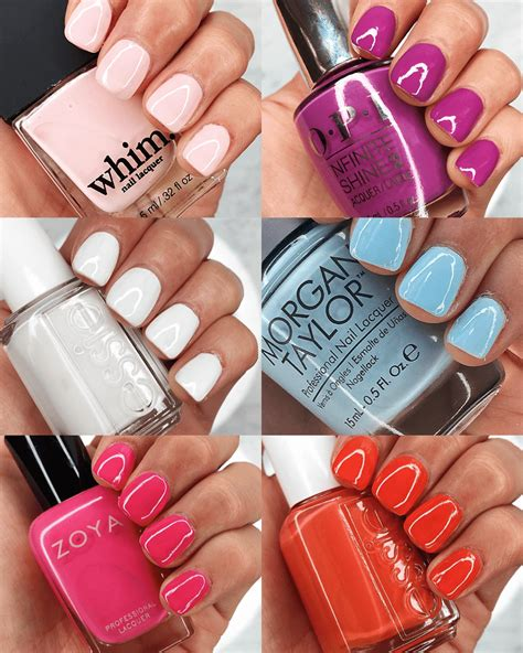 color nails 6 new colors to try for your summer nails