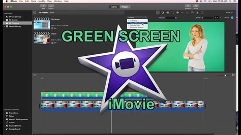 tutorial imovie 10 imovie 10 0 6 green screen tutorial youtube