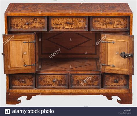 German Cabinet by A Southern German Renaissance Cabinet With Decorative