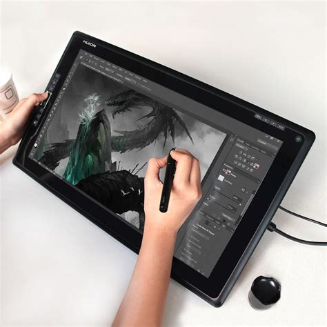 Tablet Drawing huion gt 185 graphic drawing tablet