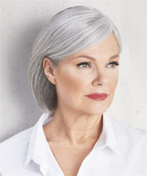 Hairstyles For Seniors by Bob Pixie Hair Styles For Grey Hair For