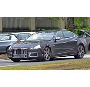2018 Maserati Quattroporte Spy Shots