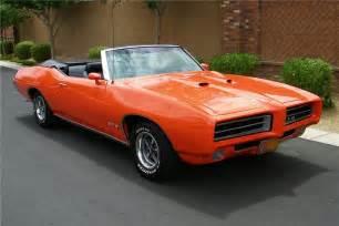 69 Pontiac Convertible 1969 Pontiac Gto Convertible Barrett Jackson Auction