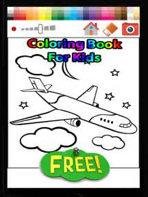 free coloring apps app shopper airplane coloring book for free