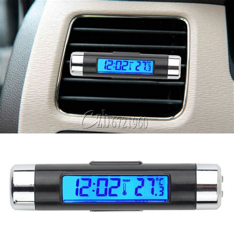 Termometer Sensor digital led auto car in outdoor thermometer w sensor