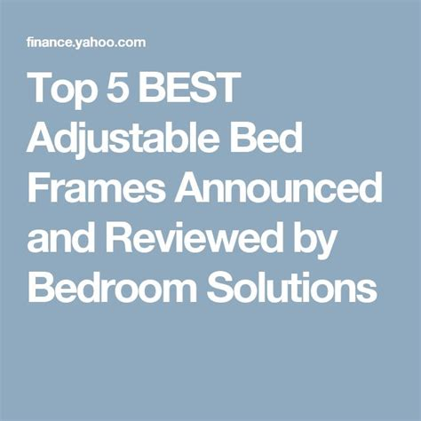 1000 ideas about adjustable beds on beds for sale adjustable bed frame and memory foam