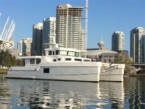 catamaran for sale edmonton 65 hys yachts lrc catamaran trawler 2014 outside victoria
