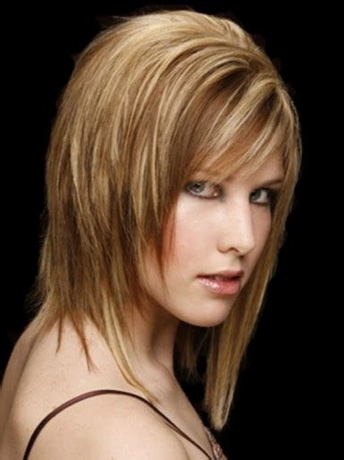 hairstyles 2017 medium length with bangs shoulder length layered haircuts 2017