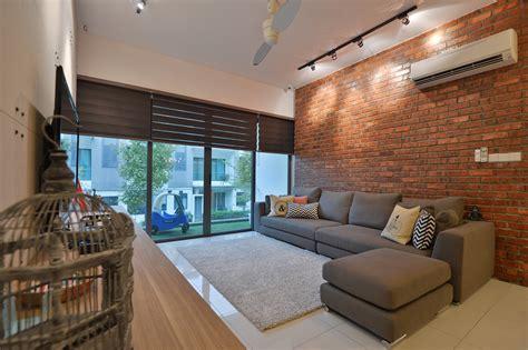 terraced house interior design contemporary sunway spk terrace house by yong design