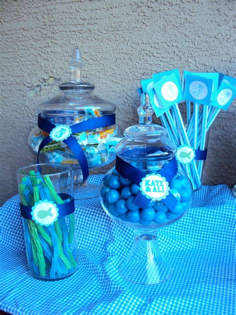 under the sea candy table candy ideas for the candy buffet table under the sea