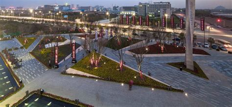 Garden City Plaza Locus Vanke City 15 171 Landscape Architecture Works Landezine