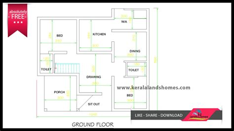 www kerala house plan free 1300 sq ft kerala house plans free for low budget home makersreal estate kerala free