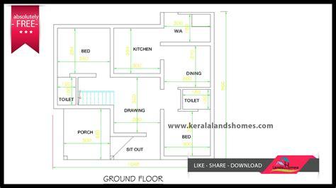 house plans 1300 square kerala house plans 1300 square house plans