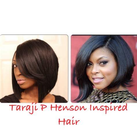 what type of hair does taraji henson weave taraji p henson inspired bob hair youtube