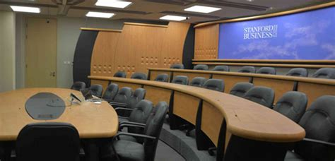 Stanford Mba Part Time Cost by Highly Immersive Classroom Stanford Graduate School Of