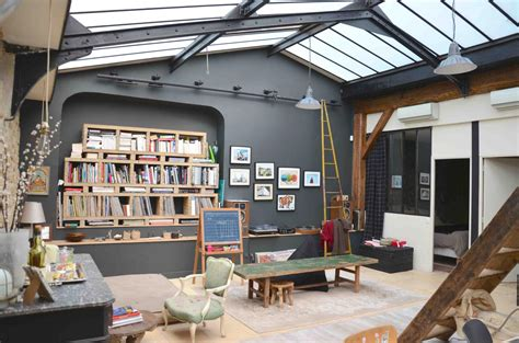 Apartment Garage un loft atelier 224 paris planete deco a homes world