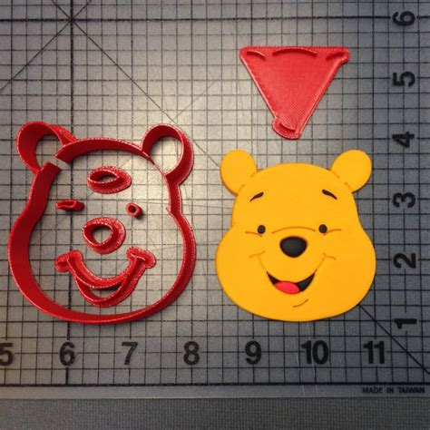 3d Winnie The Pooh Bread Cookies Mold Cutter Cetakan Roti Kue Pooh winnie the pooh cookie cutter set