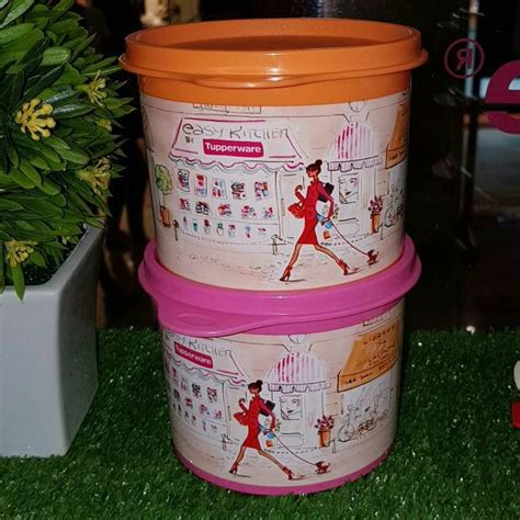 Tupperware Miss Canister Set jual tupperware miss canister 2 pcs