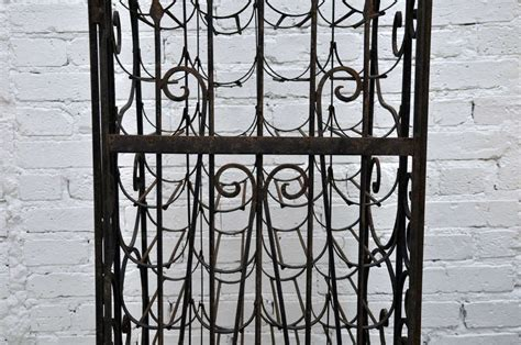 Handmade Wrought Iron - handmade wrought iron wine rack at 1stdibs