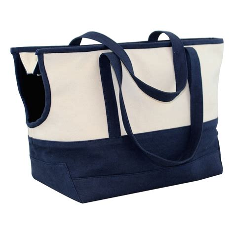 carrier tote canvas pet carrier tote
