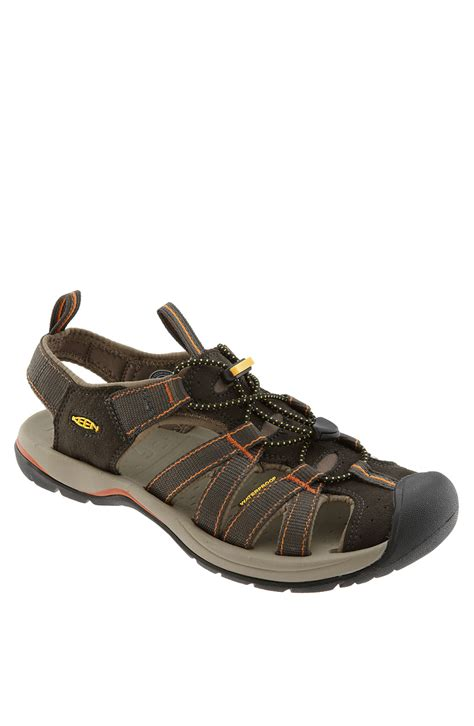 waterproof sandals keen kanyon waterproof sandal in green for black