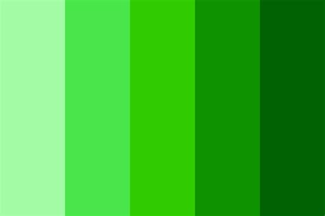 green color palette shades of green color palette