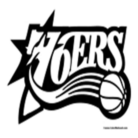 76ers Coloring Page by Basketball Coloring Pages Nba Coloring Pages