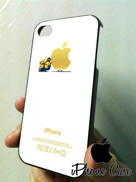 Minion Despicable Me For Iphone 5 5s Tipe B Limited minion push apple despicable me for iphone 5 black kk heros