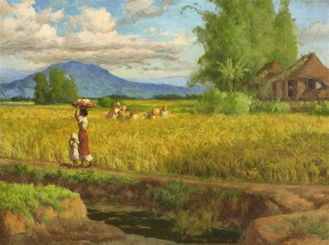 Landscape Definition Tagalog The Mountains In Fernando Amorsolo S Paintings