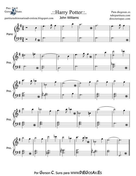 theme music piano harry potter theme piano tubescore harry potter by john