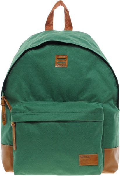 bench rucksack bench backpack in green for men lyst