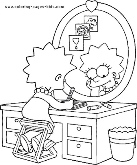 simpsons house coloring page the simpsons color page coloring pages for kids