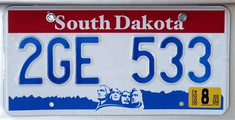 South Dakota Vanity Plates south dakota license plate photo brian mcmorrow photos at pbase