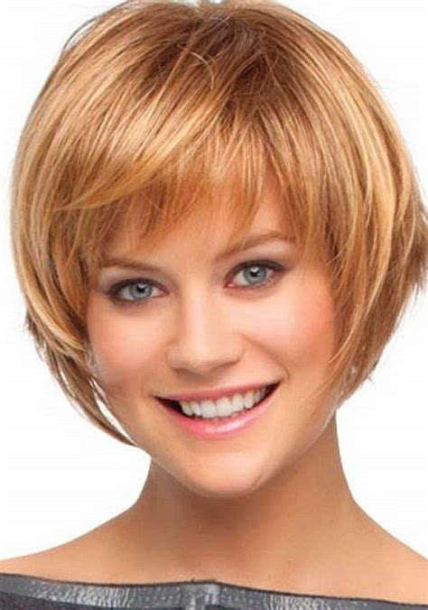 hairstyles with light bangs short bob hairstyles with bangs light brown layered bob