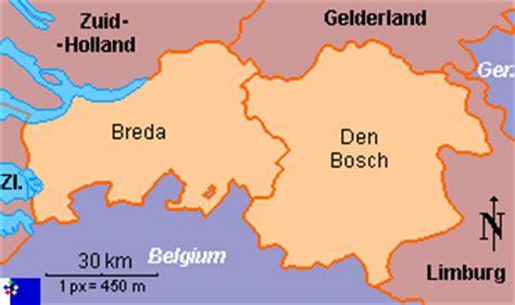 brabant netherlands map clickable map of brabant netherlands