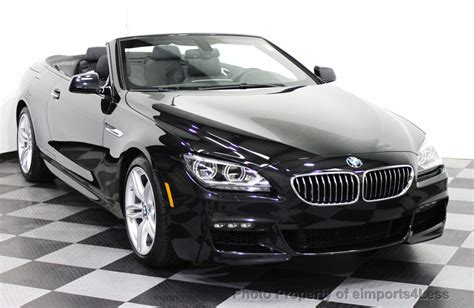 Bmw Convertible Used by 2014 Used Bmw 6 Series Certified 640i M Sport Convertible