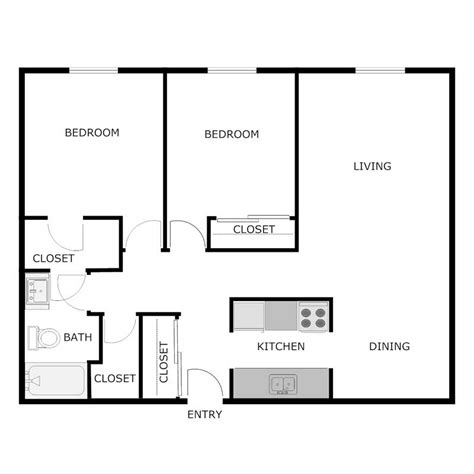 900 sq ft apartment floor plan 2 bedroom 1 bath apartment central park apartments