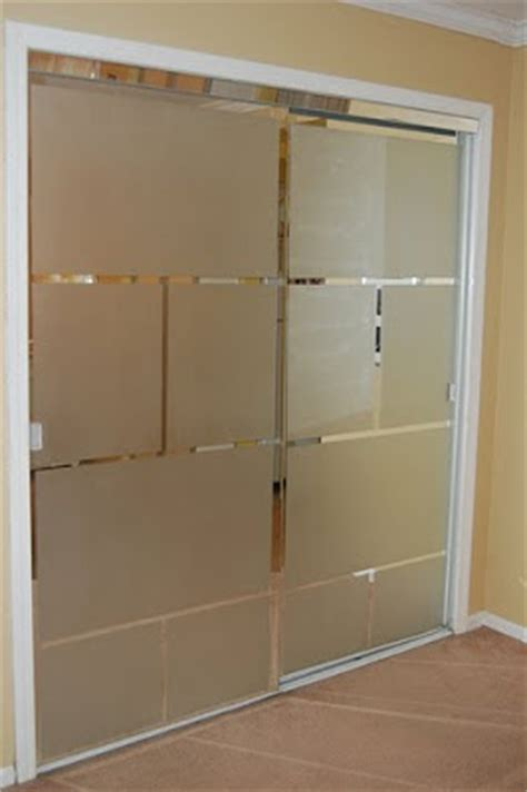 Cover Mirrored Closet Doors Pretty To Think So Feeling Crafty A Fix For Mirrored Closet Doors