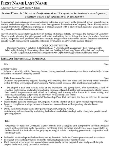 Financial Operations Manager Sle Resume top insurance resume templates sles