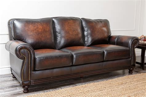 Best Leather Sofas Reviews Pigmented Leather Sofa Leather Furniture Reviews Top Brands Sofa Guide Thesofa
