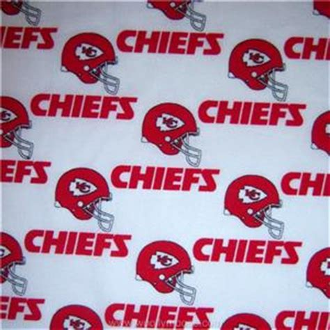 Upholstery Fabric Kansas City by Half Yard Nfl Kansas City Chiefs 60 Quot Licensed Football Helmet Fabric 1 2 Yd Ebay