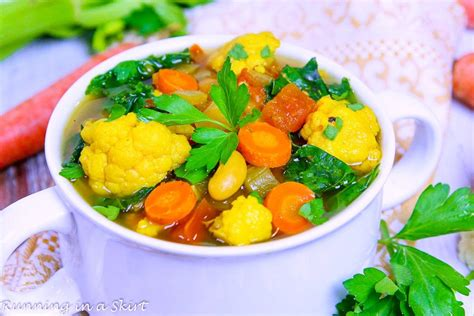 Detox Soup Vegetarian by Crock Pot Vegetarian Detox Soup
