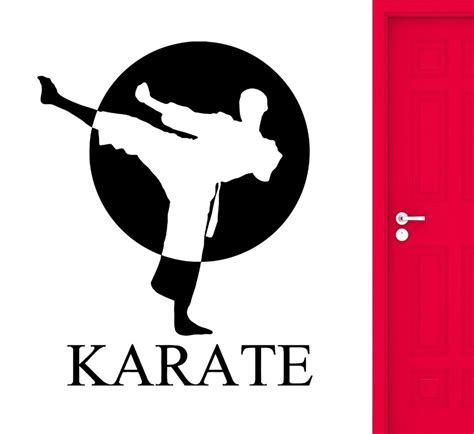 Wall Stickers Love popular karate decorations buy cheap karate decorations