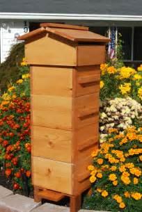 Backyard Beehives Warre Bee Hive Farm Garden And Beyond